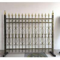 Quality Decorative Wrought Iron Fence Erosion Resistance Ornamental Fence Panels for sale
