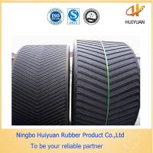 Professional Standard Industrial Chevron Rough Top Rubber Conveyor Belt Manufactures