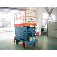 China 8m Hydraulic Mobile Platform Table , Portable Aerial Lifting Platform with Extension on sale