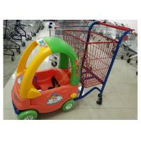 China Supermarket Toy Car Fun Metal Kids Shopping Carts Trolley With Wheels on sale