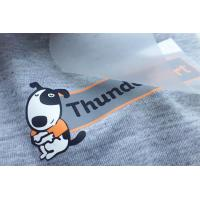 Screen Print Heat Transfer Clothing Labels Custom Iron On Stickers Manufactures