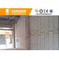 Spacing Save composite structural panels / Sand Cement Eps Panel Outer Cladding Wall Manufactures