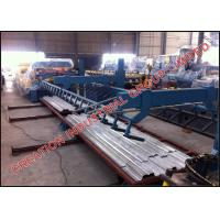 Full Automatic Floor Deck Sheet Metal Roll Forming Machines Thickness 0.8-1.2mm Manufactures
