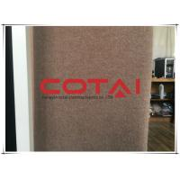 Buy cheap Women's Coat 68% Wool 12% Mohair 20% Nylon Single Sided Caramel 413 GSM from wholesalers