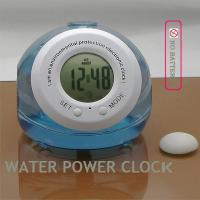 China water power clock (NP-WC087N)/Teenagers innovative products/promotional products/novel gifts/Christm on sale