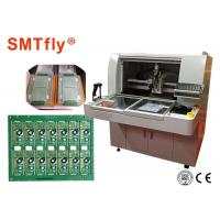 0.05mm Accuracy Depaneling Router Printed Circuit Board Machine For PCB Panel Connection With Milling Joints Manufactures