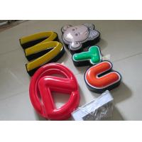 Illuminated Channel Letters Metal Returns With Formed Face / Outdoor Signage Manufactures