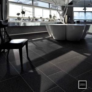 Non Slip Matt Finish Black Kitchen Wall Tiles 24x24 Polished Porcelain Tile Manufactures
