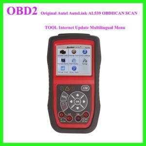Original Autel AutoLink AL539 OBDIICAN SCAN TOOL Internet Update Multilingual Menu Manufactures