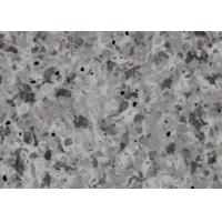Quality Artificial Countertop Slabs Marble Look Quartz Countertops Easy To Maintain for sale