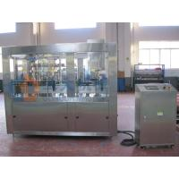 Auto Stainless Steel Beer Canning Machine Adjustable Voltage 1000cph - 2000cph Manufactures