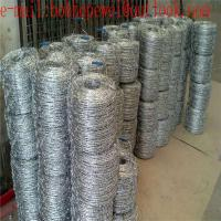 Double Twist Steel galvanized barbed wire price/14 Gauge Galvanized Barbed Wires/hot-dipped galvanized barbed wire Manufactures
