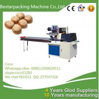 sesame rolls Flow wrapper packaging machine from Bestar packing coco Manufactures
