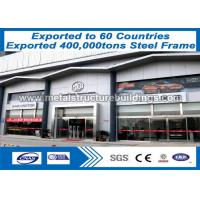 OEM customized Prefabricated Steel Structures ASTM A36& A572 JIS SS400 Manufactures