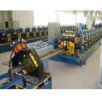 Supermarket Upright Rack Roll Forming Machine Servo Following Cutting Manufactures