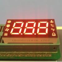 SGS Custom LED Display , Multi color 7 Segment Display for temperature humidity defrost Manufactures