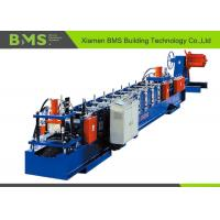 Customize Size Change Cold Rolled Sheet C Purlin Forming Machine With Hydraulic Uncoiler Manufactures