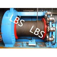 Lebus Grooves Offshore Winch Oil Well Drilling Rig Parts Winch With Brake Disc Manufactures