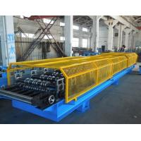 China 1.25M Width Trapezoid Roof Panel Roll Forming Machine For Commercial Metal Buildings on sale