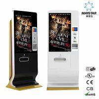 China 1080P Vertical Interactive Touch Screen Kiosk Wifi Mobile Phone Charger Station on sale