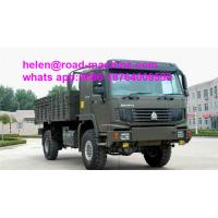 Buy cheap 371hp Steyr Engine 4x4 Full Road Cargo Truck Sinotruk Howo Heavy Duty from wholesalers