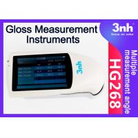 20 60 85 Angle Gloss Measurement Instruments HG268 High Tech 0~1000GU Stone Paint Machine tester Manufactures