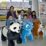 Hansel shopping mall walking ride on animal toy walking animal rides for sale Manufactures