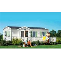 China Prefab Mobile Homes With Laminate Floor / Colorbond Roofing / PVC Wall Cladding on sale