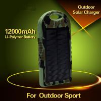 China Cheap Solar Mobile Phone Charger 10000mAh solar charger on sale