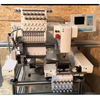 China Custom Electronic Home Embroidery Machines , One Head Embroidery Machine on sale