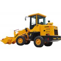 China 1 Ton Rated Load Compact Articulated Wheel Loader 918 With Hydraulic Steering System on sale