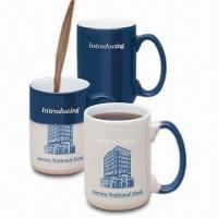 10/12oz Coffee Mugs with Color Glazed, Customized Logo Can be on Decal Manufactures
