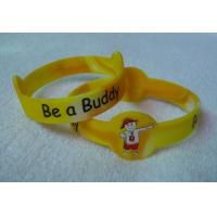 Oem Unisex Bangle Custom Silicone Wristbands Personalized Rubber Bracelets Manufactures