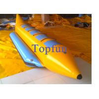 Rafting Inflatable Banana Boat Water Ski With High Speed / Banana Boat Water