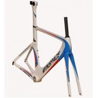 Single Speed Aero Track Bike Frame Carbon Fiber 700C Customized Aero Multi Color Manufactures