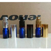 5ml Blue frosting spray glass bottle, lotion glass bottle, essential oil glass bottles for sale