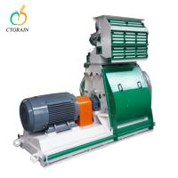 Wheat Grinding Compact Flour Mill Animal Feed Hammer Mill Eco - Friendly Manufactures
