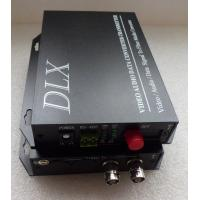 Buy cheap 2channels Digital Video/Audio/Data Fiber Optical Transmitter and Receiver 2BNC coaxial CCTV video to Fiber converter from wholesalers