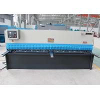 Steel Plate Shearing Machine , Hydraulic Sheet Metal Cutter With LCD 240×128 Display Manufactures