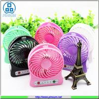 portable mini electronic fan rechargeable fan with USB power bank strong wind Manufactures