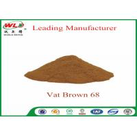 100% Purity Synthetic Dyes C I Vat brown 68 Brown G Not Dissolved In Water Manufactures