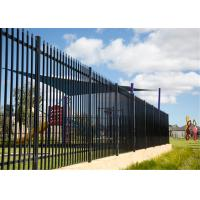 High security fence/Tubular steel security fencing/Australia commercial fencing Manufactures