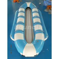 Double Lanes Inflatable Banana Boat / Towable Tube Boat For Sea Manufactures