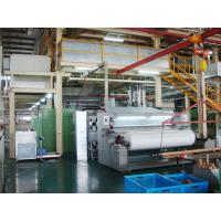 PP Double Ss Non Woven Fabric Production Line / Spunbond Nonwoven Equipment Manufactures