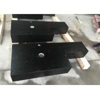 Black Sparkle Quartz Engineered Stone Countertops With Aprons Laminated Manufactures