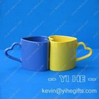China Heart-shaped Mug, Love Mug,Valentine Mug on sale