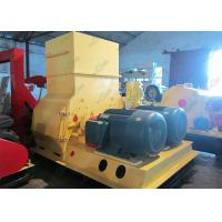 Alloy Steel Straw Hammer Mill Animal Feed Crushing Machine 22kw 1-2T / H Manufactures