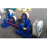 5T - 60T Pipe Welding self - aligning Rotator with rubber rollers , tank turning rolls Manufactures