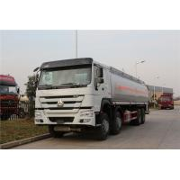 Sinotruk HOWO 8x4 Fuel Delivery Tanker For Liquid Gas Diesel Oil Transportation Manufactures