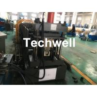 Top Purlin GI Carbon Steel Cold Roll Forming Machine 0-15m/Min 15KW Manufactures